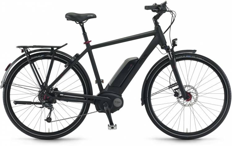 "Sinus Tria 9 500Wh 28"" schwarz matt 2017 - Touring E-Bike Men"