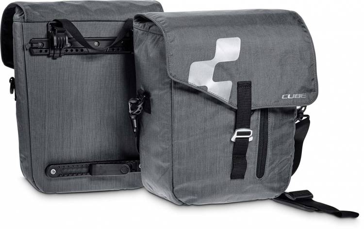 Cube bicycle bag CITY (pair) anthracite