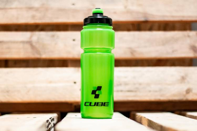 Cube drinking bottle 0,75l Icon green