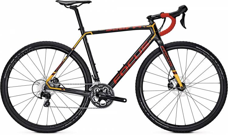 Focus Mares 105 carbon/red/orange 2017 - Cyclocross