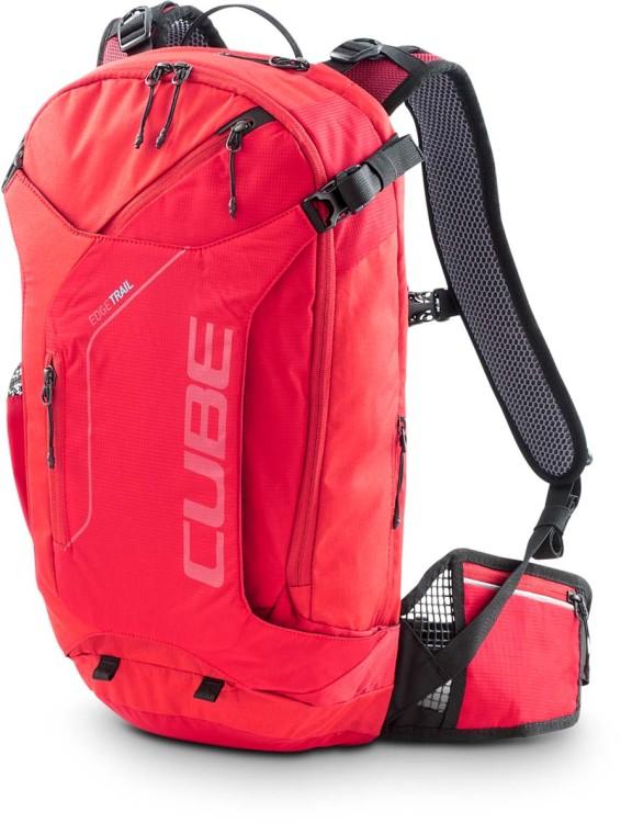 Cube Backpack EDGE TRAIL red