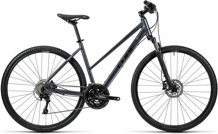 Cube Nature Pro grey black Damen - Trapez 2016