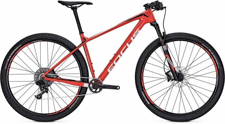 Focus Raven Evo 27 red/white 2017 - Hardtail Mountainbike