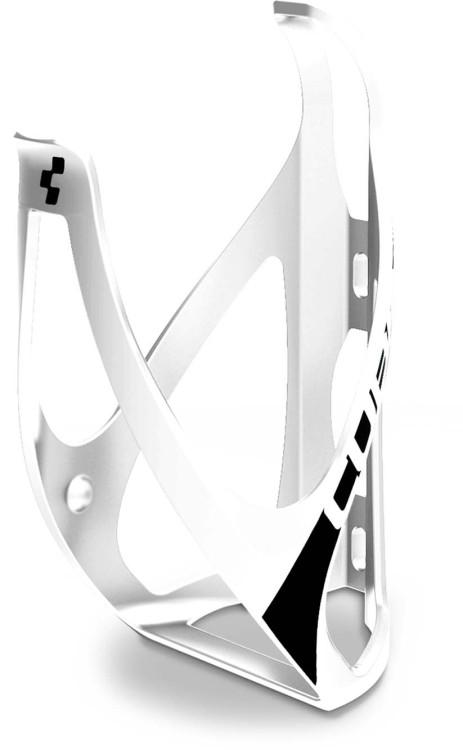 Cube bottle cage HPP matt white n black