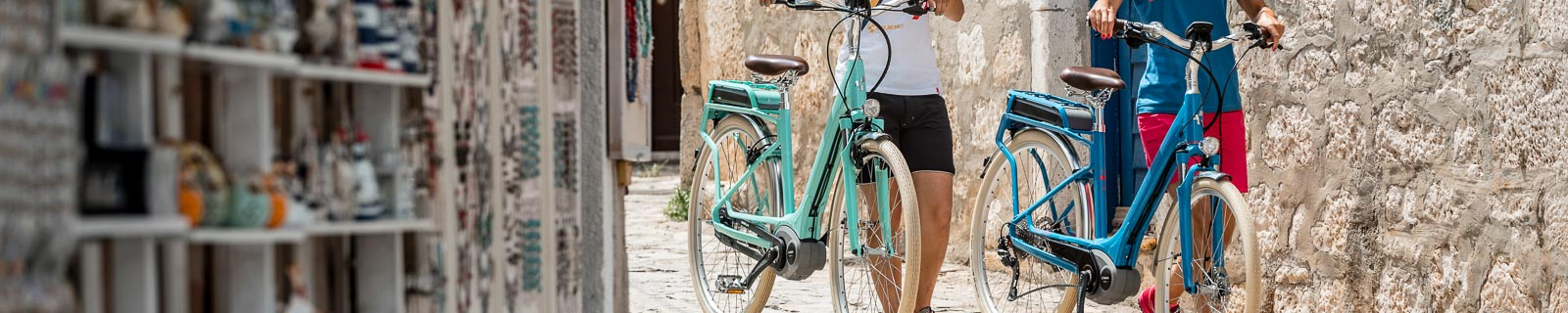 Retro and Vintage E-Bike Touring Bike