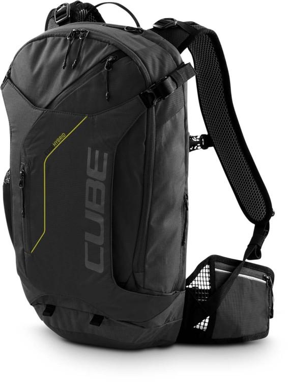Cube Backpack EDGE HYBRID black n lime
