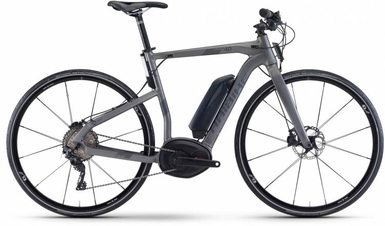 Haibike XDURO Urban 4.0 500Wh titan/anthrazit matt 2017 - Fitness E-Bike Men
