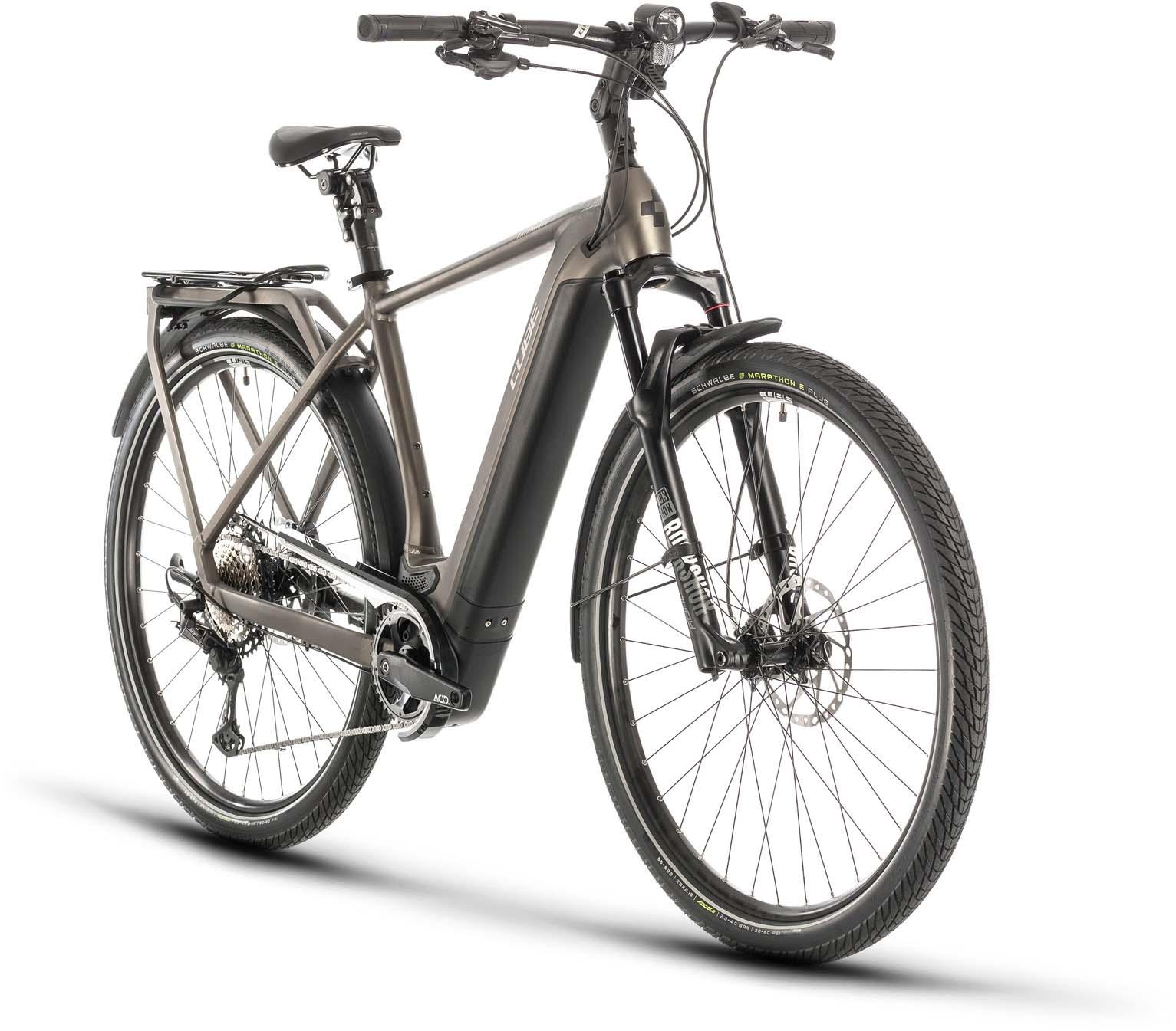Cube Kathmandu Hybrid Slt 625 Teak N Silver 2020 Touring E Bike Men Mhw