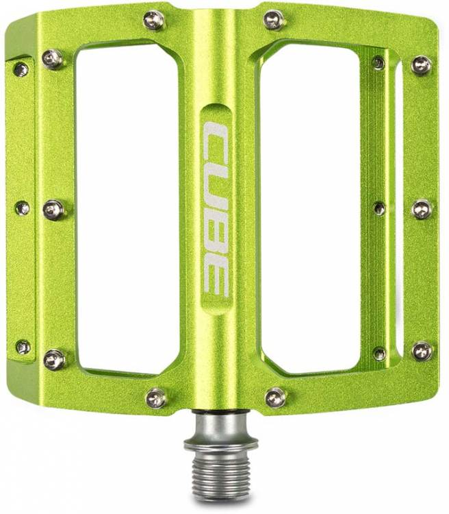 Cube Pedals ALL MOUNTAIN green