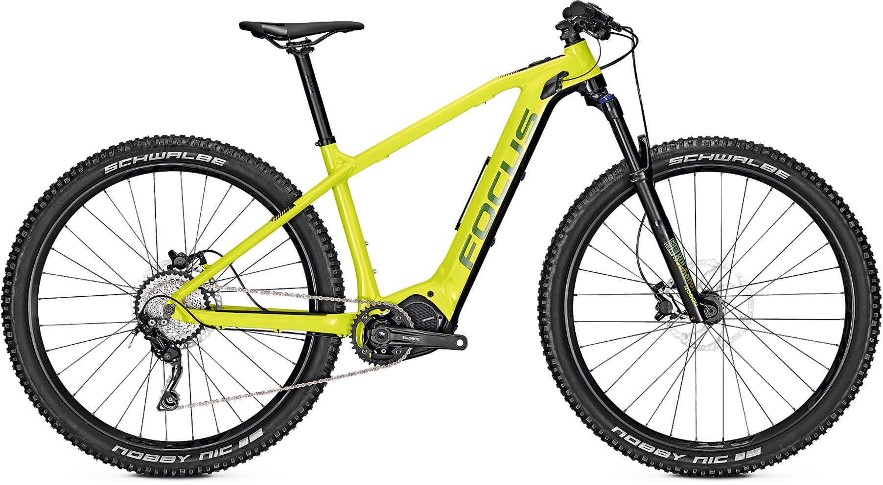 focus jam2 ht 6 8 nine lime 2019 e bike mountainbike. Black Bedroom Furniture Sets. Home Design Ideas