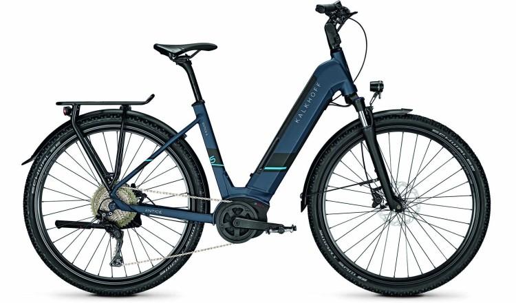 Kalkhoff Entice 5.B XXL deepskyblue matt (Wave) 2020 - Touring E-Bike Easy Entry