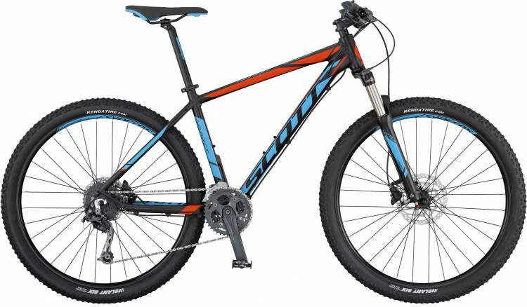 Scott Aspect 730 black/blue/red 2017