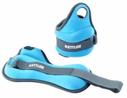 Kettler Wrist Cuffs 2 x 0,5 Kg Blue