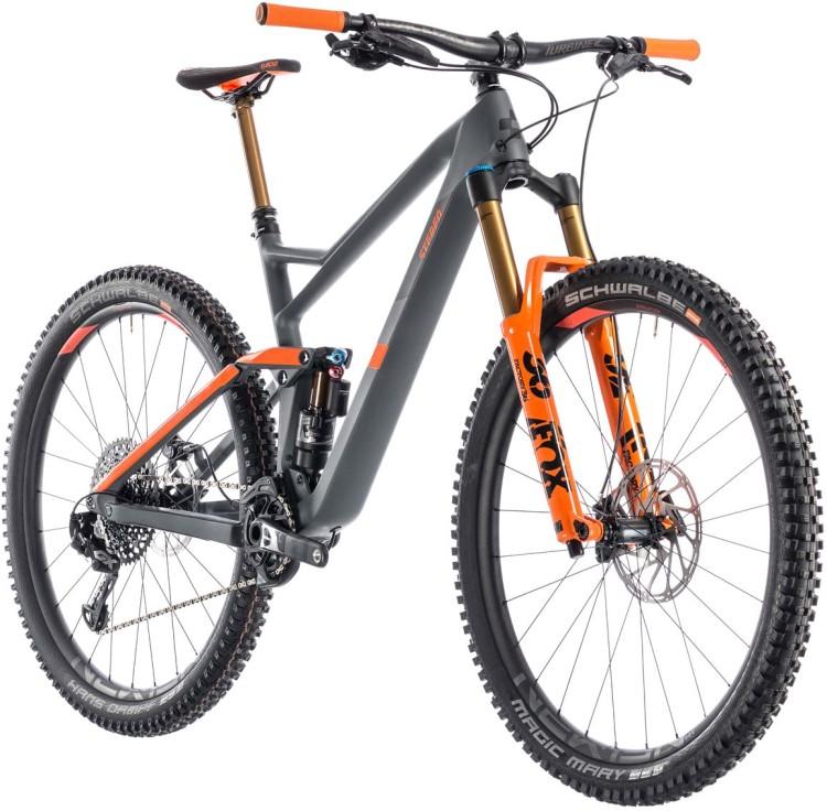 Cube Stereo 150 C 68 Tm 29 Grey N Orange 2019 Mountainbike