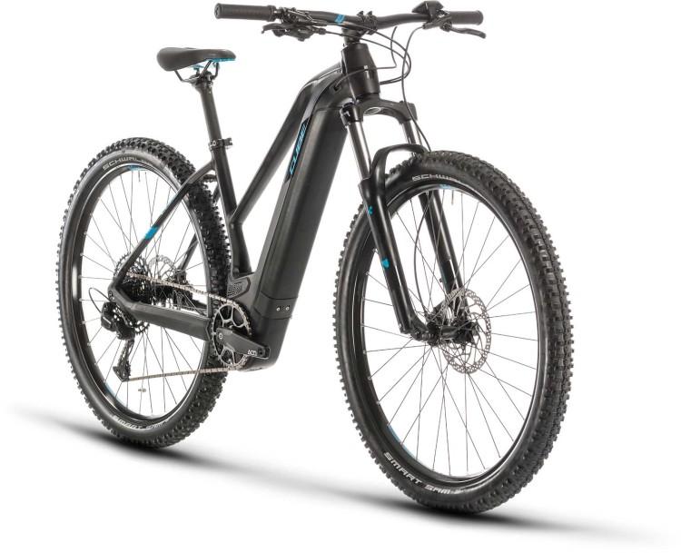 Cube Reaction Hybrid EX 500 29 black n blue 2020 - Damen E-Bike Hardtail Mountainbike Women