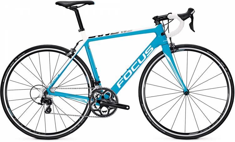 Focus Cayo 105 M blue/white 2017 - Road Bike Carbon Men