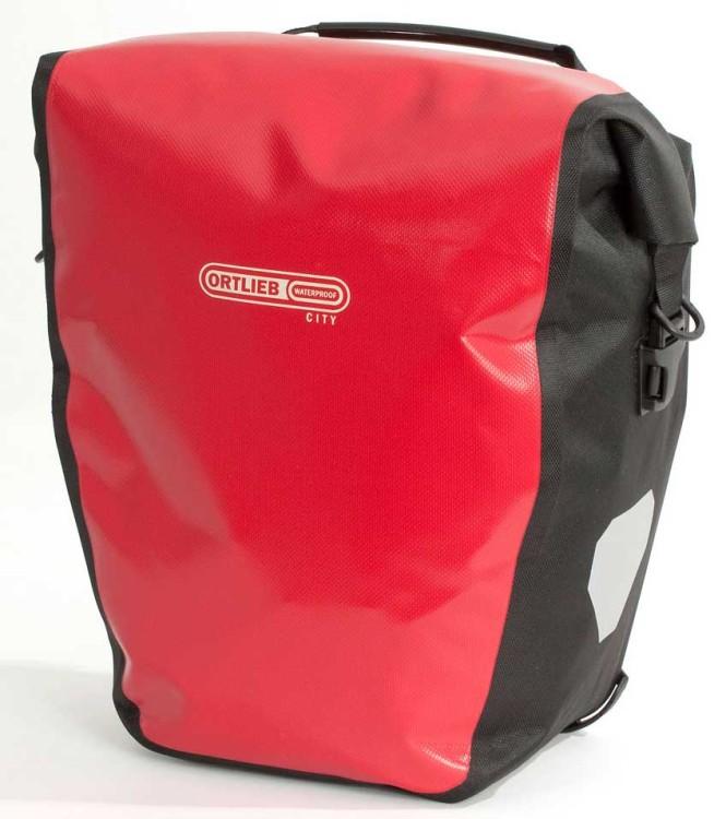 Ortlieb Back-Roller City (pair) rear wheel bag red