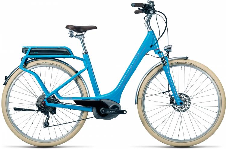 Cube Elly Ride Hybrid 500 blue n flashred Damen - Easy Entry 2016