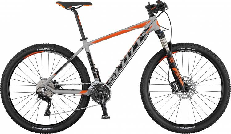 Scott Aspect 910 grey/black/orange 2017