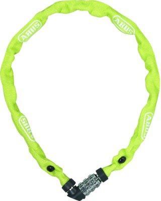 Abus lock-chain combination 1200 Web lime
