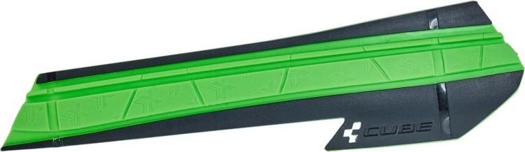 Cube chainstays HPX black n green