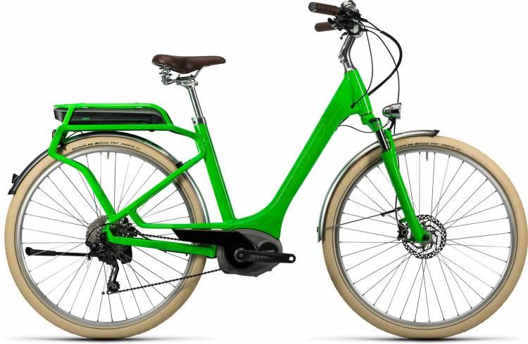 Cube Elly Ride Hybrid 400 flashgreen n kiwi Damen - Easy Entry 2016