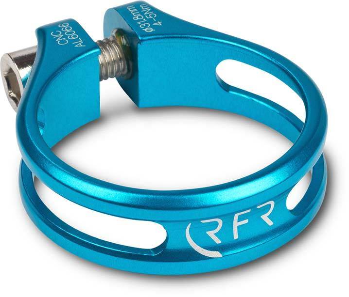 RFR seat clamp Ultralight 31,8 mm blue