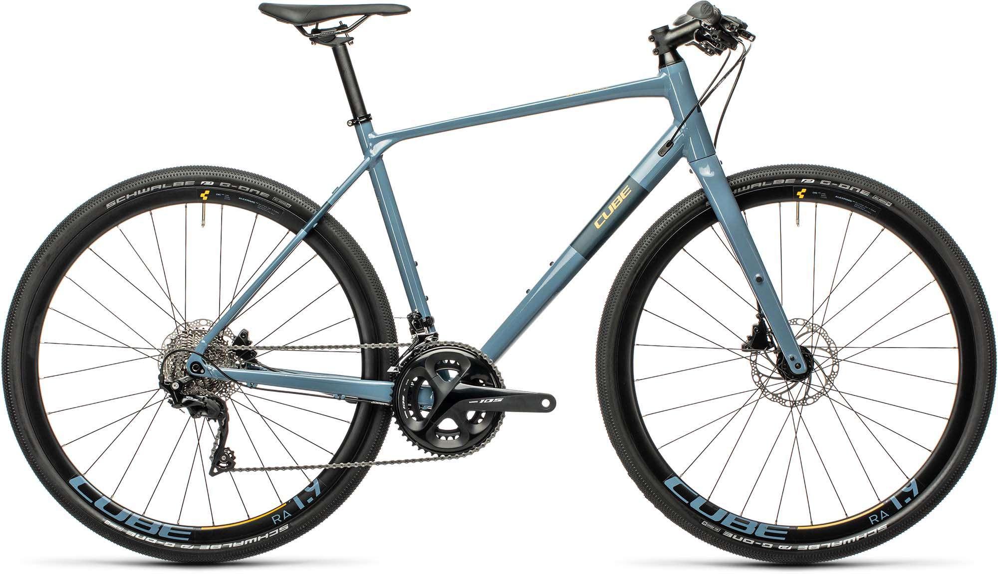 Cube Sl Road Race Blue N Orange 2021 Fitness Bike Men Mhw