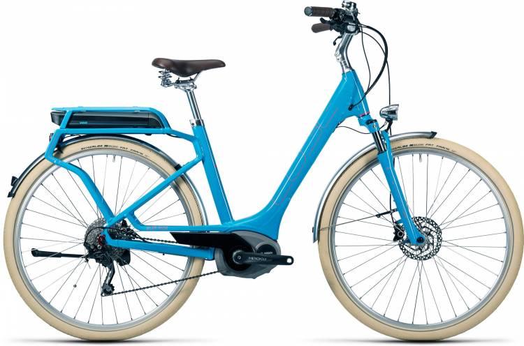 Cube Elly Ride Hybrid 400 blue n flashred Damen - Easy Entry 2016