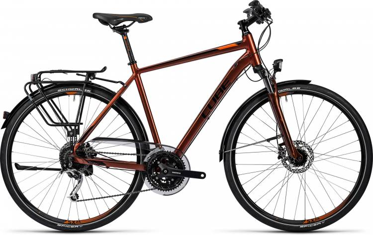 Cube Touring Exc sunburnt metallic Herren 2016