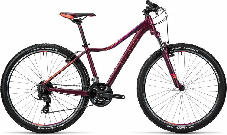 Cube Access WLS 27.5 / 29 darkberry n coral 2016 - Demonstration Model