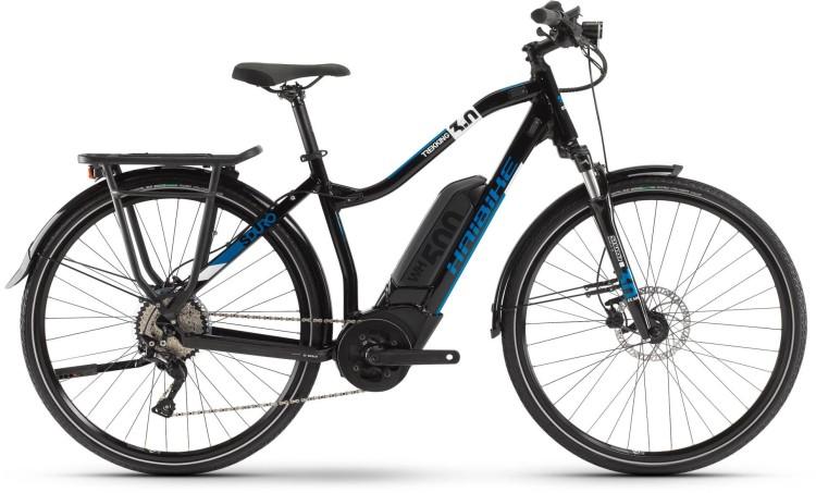 Haibike Sduro Trekking 3 0 500wh Blau Weiß Schwarz 2020 Mhw