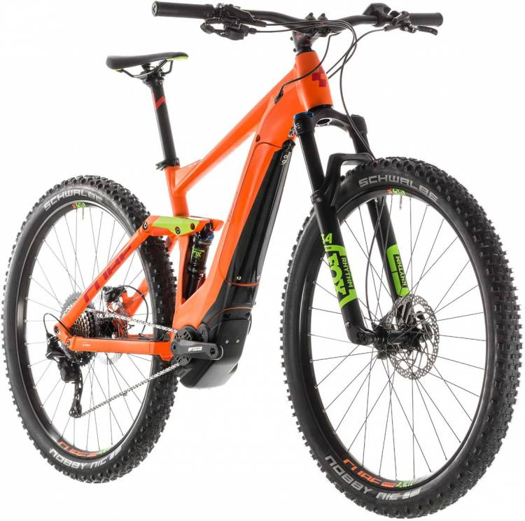 cube stereo hybrid 120 race 500 orange n green 2019 e bike. Black Bedroom Furniture Sets. Home Design Ideas