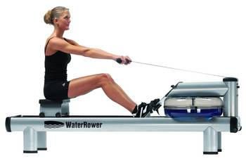 WaterRower M1 HiRise with monitor