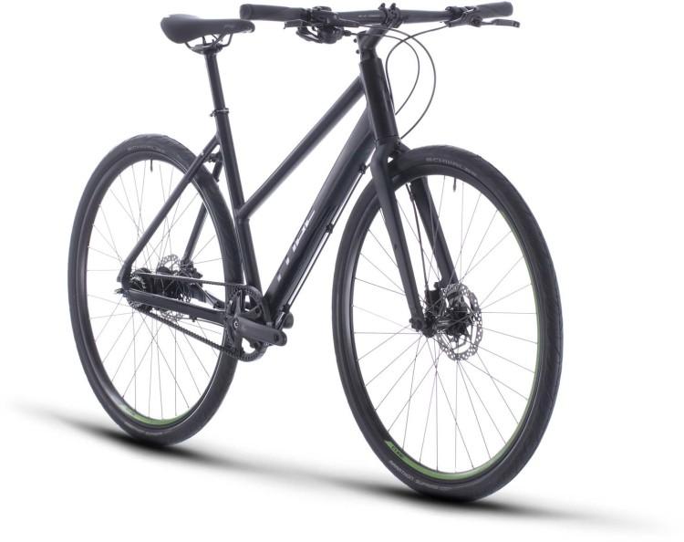 Cube Hyde Race black n green 2020 - Fitness Bike Women