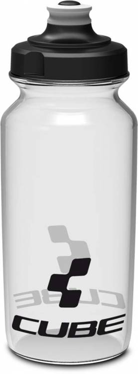 Cube drinking bottle 0,5l Icon transparent
