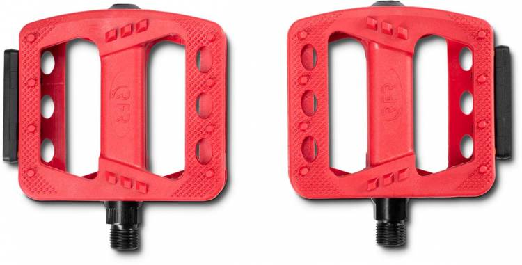 RFR Pedals Flat HQP CMPT red