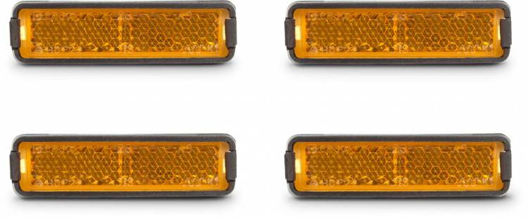Rfr Pedal Reflector Set Orange Buy Online Cheaply Mhw Bike Com