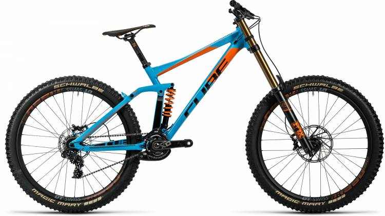 Cube TWO 15 HPA SL 27.5 powderblue n flashred 2016