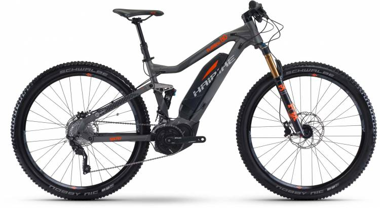 Haibike SDURO FullNine 8.0 500Wh titan/silber/orange 2017