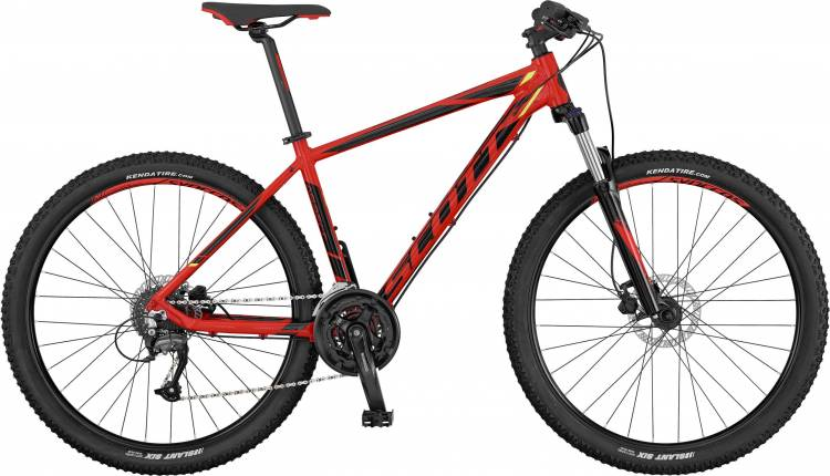 Scott Aspect 750 red/black/yellow 2017