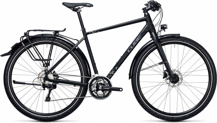 Cube Travel EXC black n grey 2017