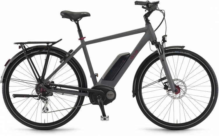 "Sinus Tria 8 400Wh 28"" schiefer matt 2017 - Touring E-Bike Men"