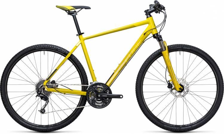 Cube Curve Pro lime n black 2017 - Cross Bike Men
