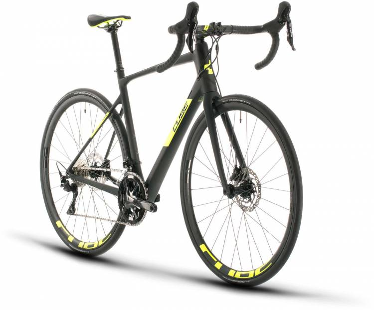 Cube Attain GTC Race carbon n flashyellow 2020 - Road Bike Carbon Men