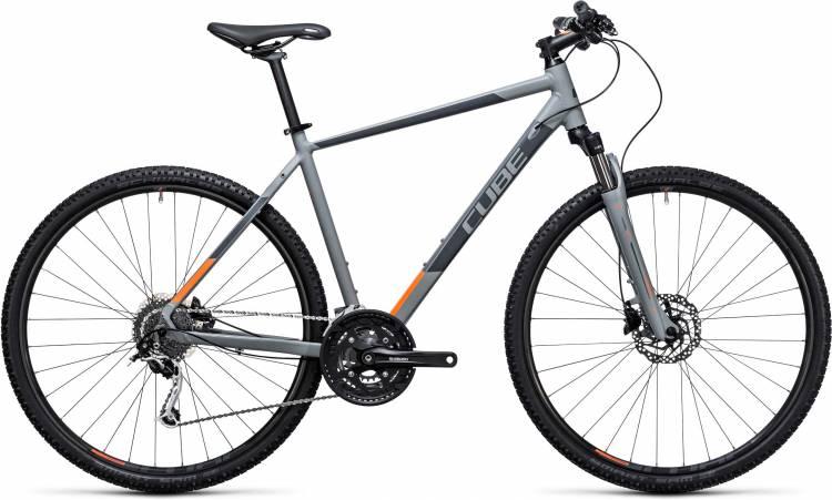 Cube Nature grey n flashorange 2017 - Cross Bike Men
