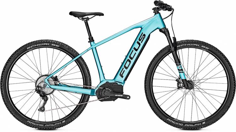 355f6b25448 Focus Jarifa2 6.8 blue E-Bike, Mountainbike Hardtail ▷ buy online ...