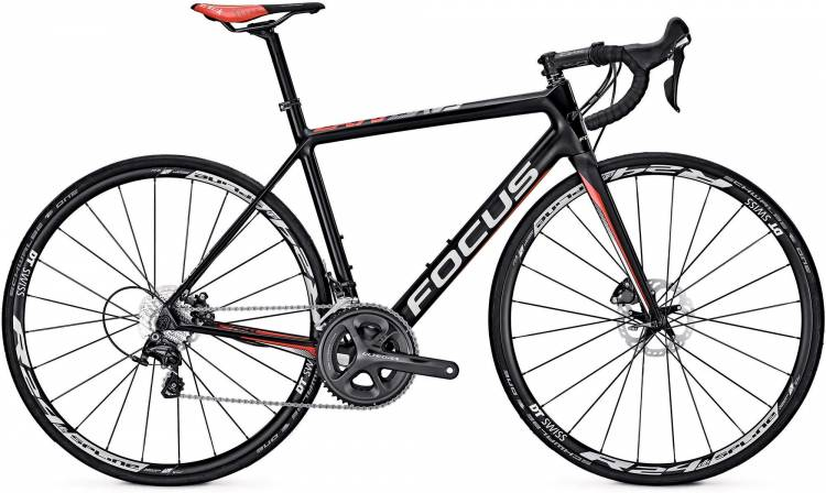 Focus Cayo Disc Ultegra carbon/red/white 2017