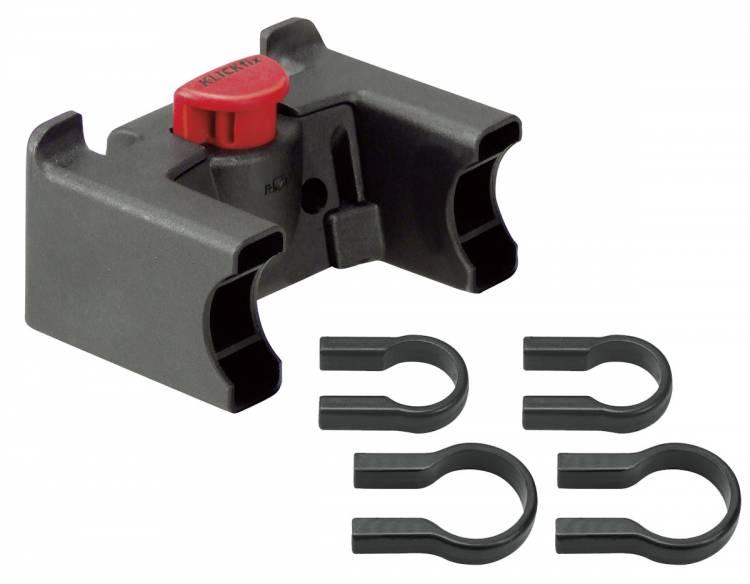 Rixen & Kaul KLICKfix handlebar adapter universal black 22-26mm & 31,8mm
