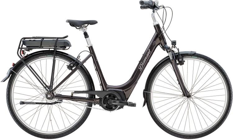 Diamant Achat+ TIE Obsidianschwarz Metallic 2020 - Touring E-Bike Easy Entry